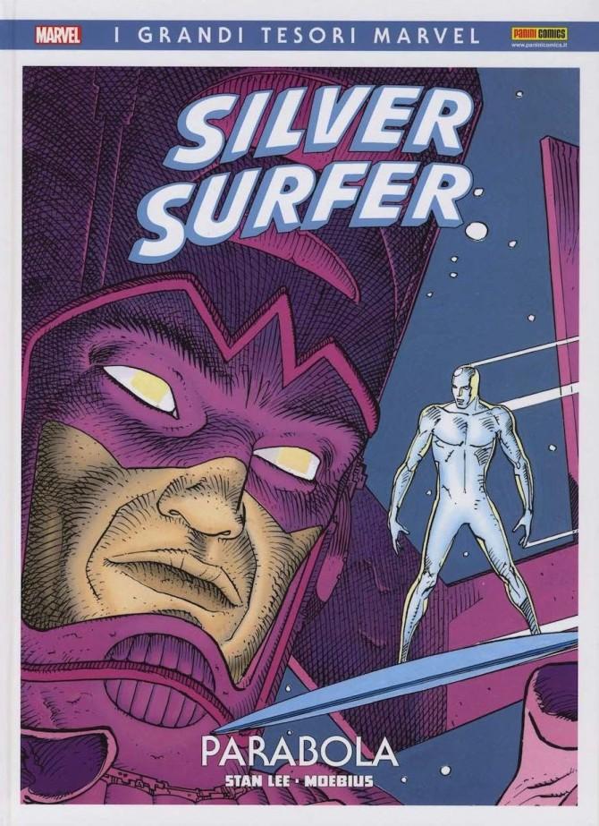 La copertina del volume edito da Panini Comics