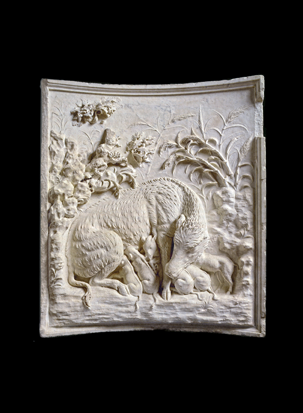 Rilievo Grimani con cinghialessa - Palestrina, Museo Archeo Naz