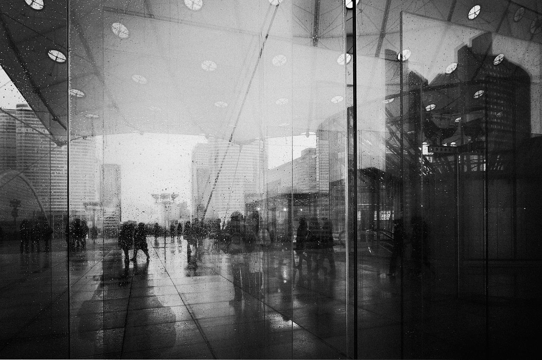 Vitorovic, reflections of a rainy day, 37x55cm