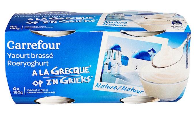 Yogurt Carrefour