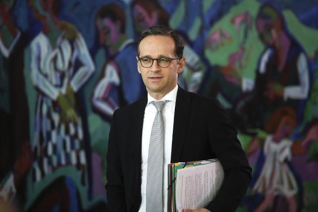 Il ministro della Giustizia tedesco Heiko Maas (Spd). </br></br>   <em>Foto Ansa/Ap</em>