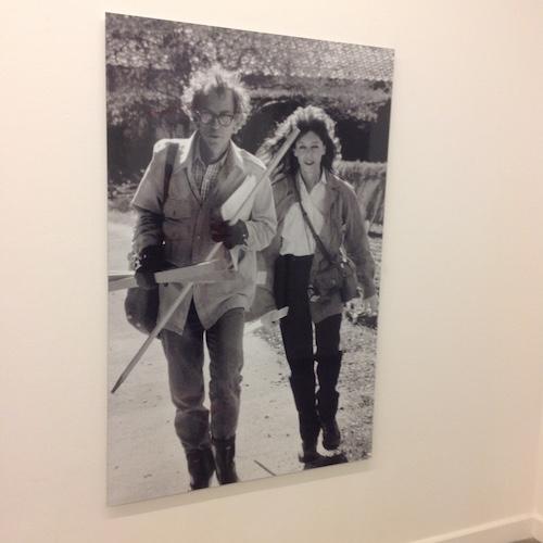 Una foto di Christo e Jeanne-Claude