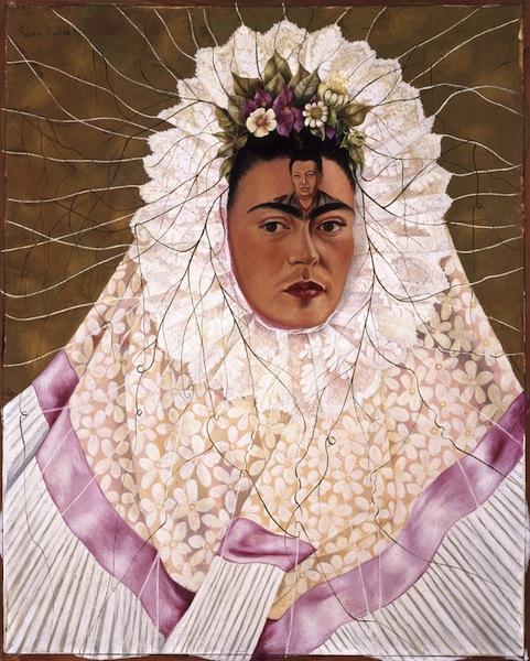 Frida Kahlo - Autoritratto come Tehuana (o Diego nei miei pensieri)