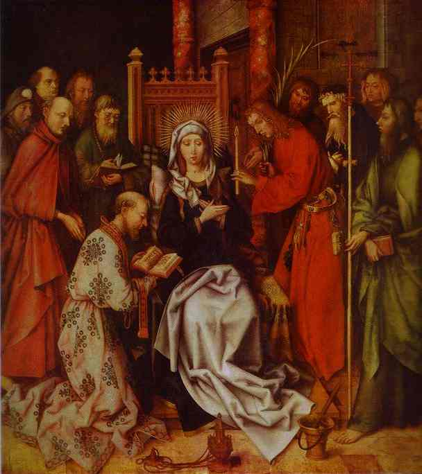 Hans Holbein, The death of the Virgin, 1501
