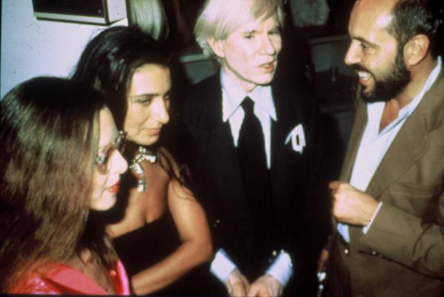 Fiorucci con Andy Warhol