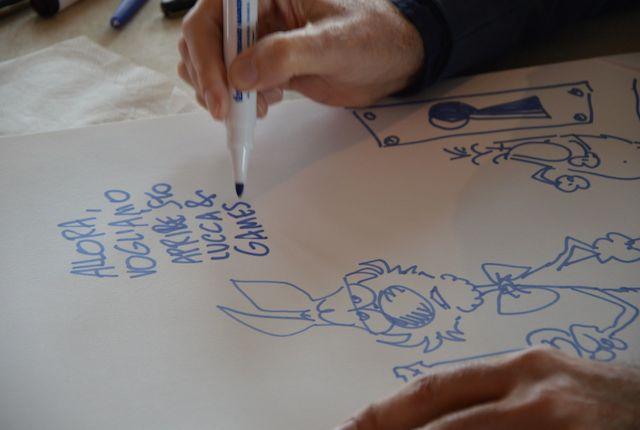 Silver (al secolo Guido Silvestri) è stato eletto Maestro del Fumetto dalla giuria del Gran Guinigi 2013. Sarà quest'anno protagonista per una mostra a Palazzo Ducale dedicata alla sua arte e a tutte le sue creature più riuscite, tra cui il mitico Lupo Alberto, che nel 2014 compie 40 anni. Lucca Comics & Games punta anche nel 2014 alla qualità degli ospiti presenti. E se Silver è una stella del firmamento comics italiano che brilla anche oltre i nostri confini, anche quest'anno il panorama internazionale è rappresentato in modo significativo, con un giusto mix di storiche leggende e protagonisti del contemporaneo. Dagli Stati Uniti, Robert Crumb, il padre della rivoluzione underground sarà presente a Lucca insieme al collega Gilbert Shelton grazie alla collaborazione con Comicon Edizioni. Vere e proprie leggende del comics indipendente, con il loro stile inconfondibile hanno influenzato più di una generazione di artisti. Rutu Modan, la più grande autrice israeliana, è vincitrice del Gran Guinigi 2013 e del Premio Speciale della Giuria di Angoulême 2014 con La Proprietà (Rizzoli Lizard), che affronta con lucidità il tema dell'identità ebraica, sarà anch'essa omaggiata in una personale a Palazzo Ducale in un progetto che coinvolge l'Ambasciata d'Israele in Italia e Pagine Ebraiche, il giornale dell'ebraismo italiano.  Boichi, Kakizaki e Katsura: con questo trio di autentiche leggende del manga, Lucca Comics & Games propone anche quest'anno il meglio del panorama orientale. I tre ospiti saranno a Lucca dal 30 ottobre al 2 novembre a disposizione dei fan durante gli showcase, gli incontri, le sessioni di autografi presso gli stand delle loro case editrici. Boichi con le sue affascinanti protagoniste vi aspetta allo stand di J-Pop Manga, Masasumi Kakizaki dalle storie mature e riflessive arriva in collaborazione con Panini, Masakazu Katsura e i suoi leggendari shonen saranno protagonisti grazie alla sinergia con Star Comics. E tra le decine di autori di fumetti, ci saran