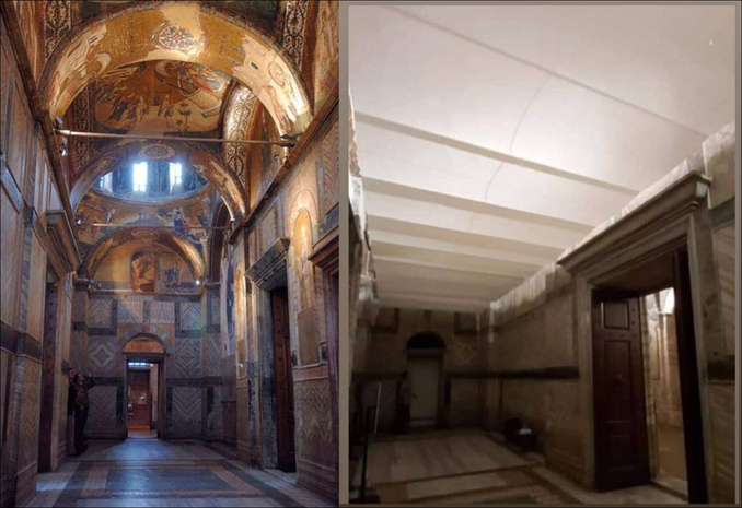 Ecco come è stata trasformata la chiesa di San Salvatore in Chora per la preghiera islamica del venerdì