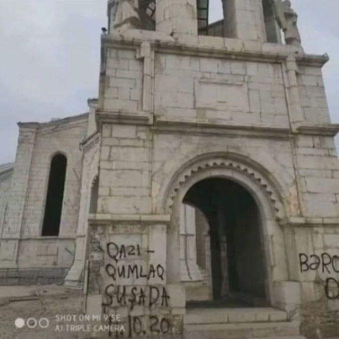 La cattedrale deturpata