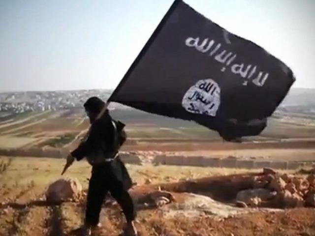La bandiera dello Stato islamico