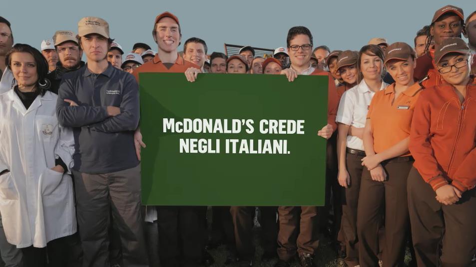 frame spot McDonald's