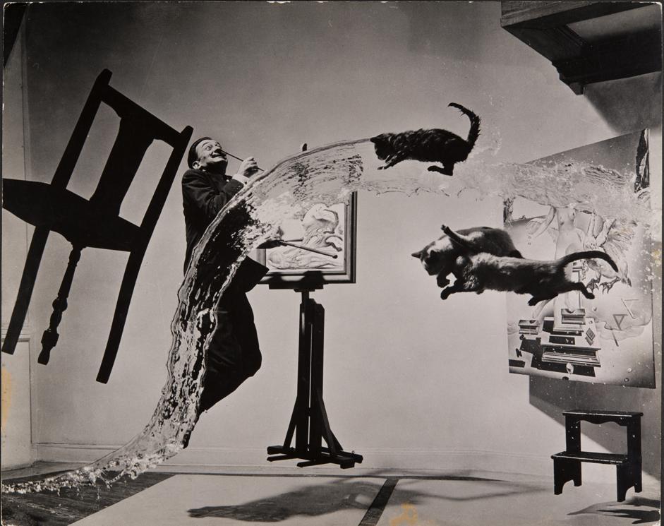 _Dalì atomico_, 1948. Courtesy Musée de l'Elysée © 2013 Philippe Halsman ArchiveMagnum Photos ExclusiveFundació Gala-Salvador Dalí, Figueres, 2014.