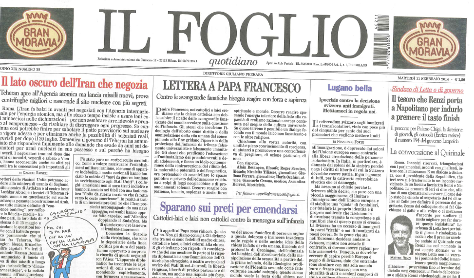 foglio-papa-francesco