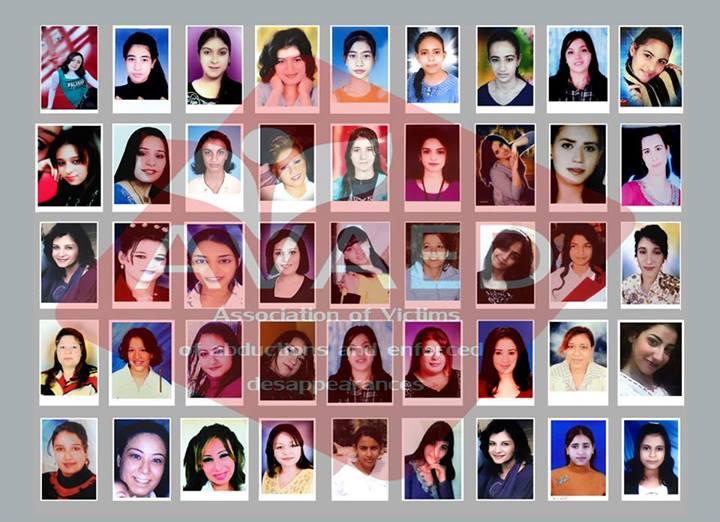 Egitto-ragazze copte scomparse foto AVAED