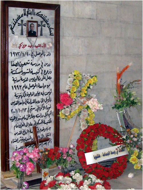 iraq-cristiani-ragheed-ganni-tomba