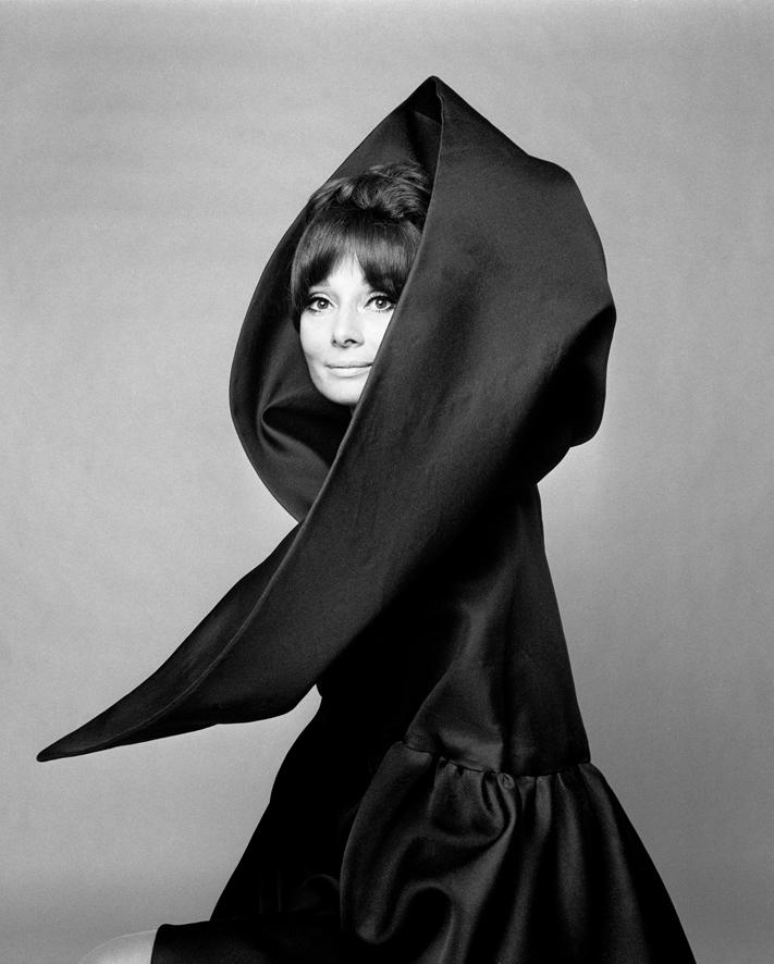 Gian Paolo Barbieri, Audrey Hepburn per Valentino, Vogue Italia, Roma 1969