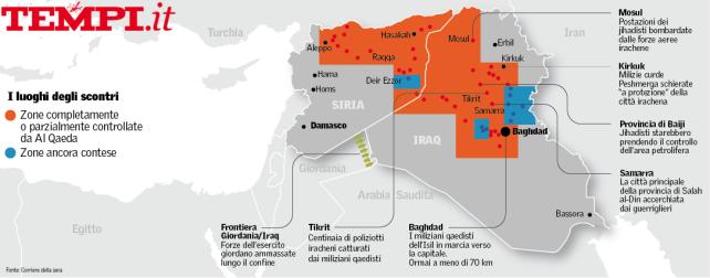 iraq-siria-isil-avanzata-califfato-cartina