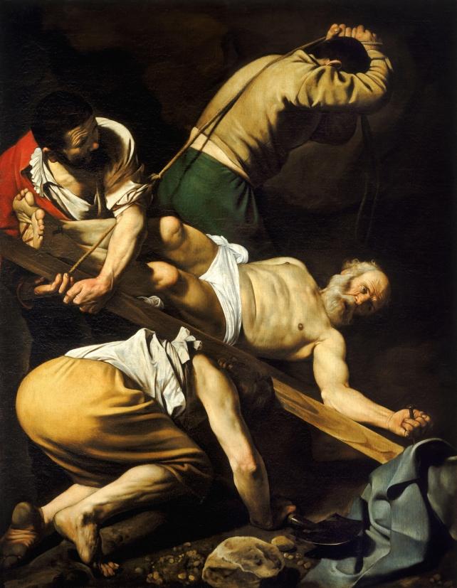 caravaggio-crocefissione-pietro