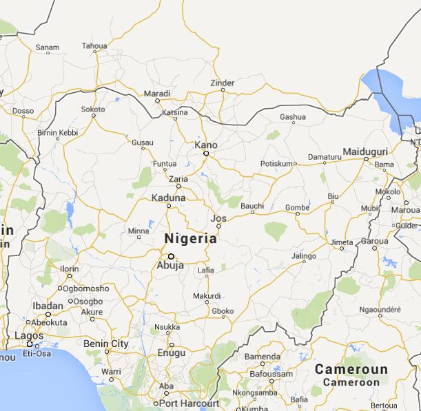 nigeria-cartina