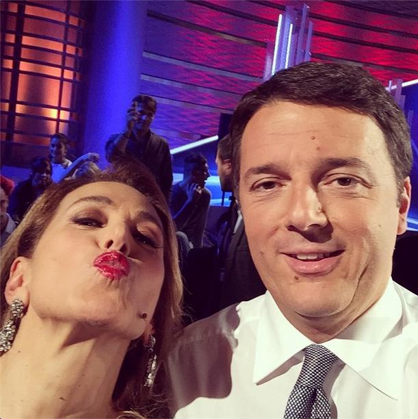 renzi-barbara-d-urso-selfie-instagram