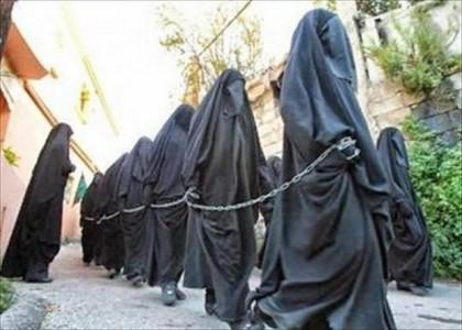 islam-stato-islamico-donne-schiave-catene