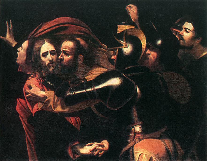 Caravaggio-giuda-gesu