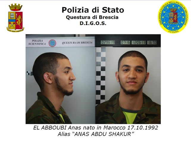 TERRORISMO:MAROCCHINO ARRESTATO DOVEVA DARE LA MATURITA'