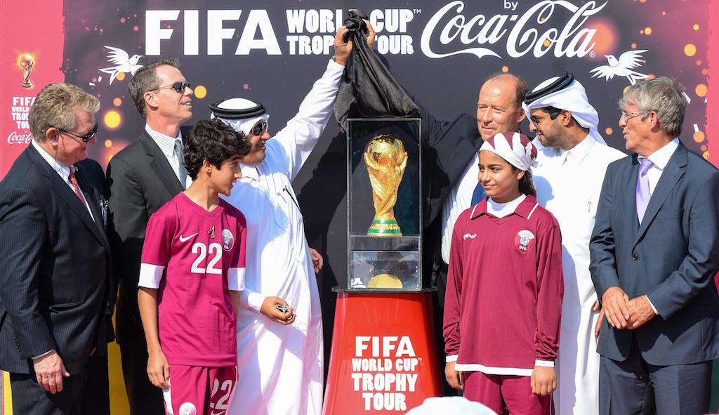 FIFA World Cup Trophy Tour arrives in Qatar