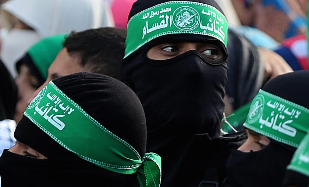27th anniversary of Hamas militant group in  Gaza City
