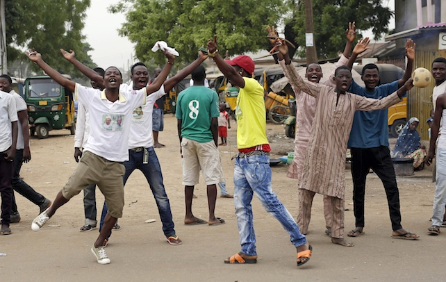APTOPIX Nigeria Election
