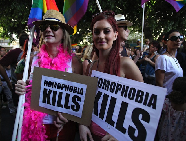 First-ever Gay Pride march held in Cyprus