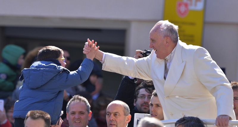 Pope meets members of 'Communion and Liberation'