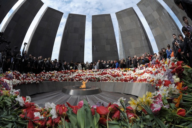 96th anniversary of the mass killings of Armenians