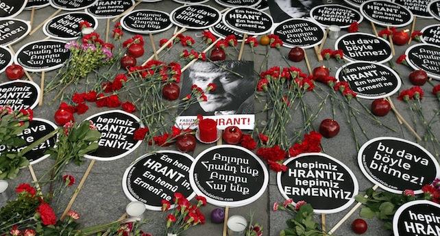 Turkish Armenian journalist Hrant Dink's murder