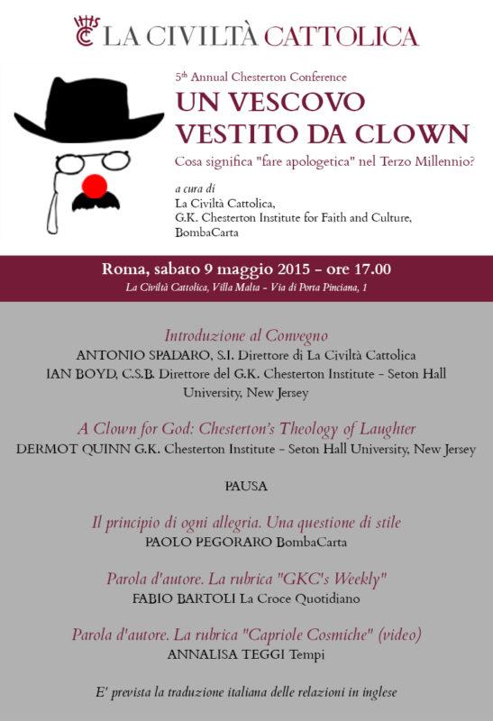 Convegno Civiltà Cattolica Chesterton2015 con logo