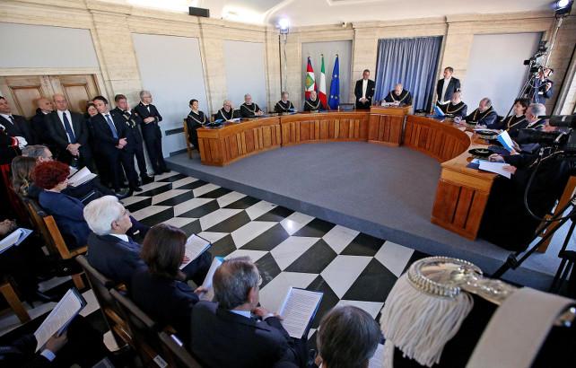 corte-costituzionale-mattarella-boldrini-ansa
