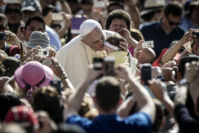 papa-francesco-udienza-generale-piazza-san-pietro-ansa
