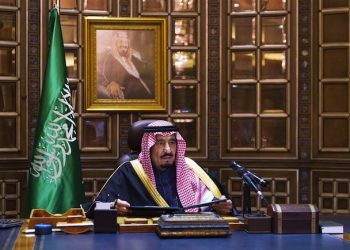 epa04578166 The new King of Saudi Arabia, Salman bin Abudlaziz al-Saud, addresses the nation for the first time as King saying the country will continue to adhere to the orthodox approach under which the state was created, ahead of the funeral of the former King, Abdullah bin Abdulaziz al-Saud, Saudi Arabia, 23 January 2015. According to reports Saudi King Abdullah died in the early hours of 23 January, aged 90, after ruling since 2005 though he had been defacto ruler since 1995 when the then King Fahd, his half brother, suffered a stroke, he is succeeded by his half brother, 79 year old King Salman bin Abdulaziz al-Saud.  EPA/STR   EDITORIAL USE ONLY/NO SALES
