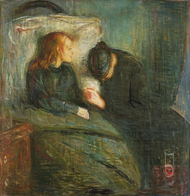 Munch-bambina-malata