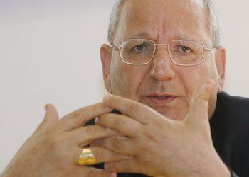 20080530 - MILANO - CRO - IRAQ: APPELLO ARCIVESCOVO DI KIRKUK. MOnsignor Louis Sako, arcivescovo di Kirkuk, oggi a Milano per una conferenza stampa  per un appello per l'Iraq. DANIEL DAL ZENNARO/ANSA