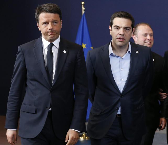 renzi-tsipras-ansa