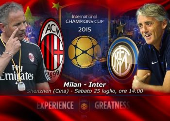 ICC: Milan-Inter in Cina, primo duello Miha-Mancio