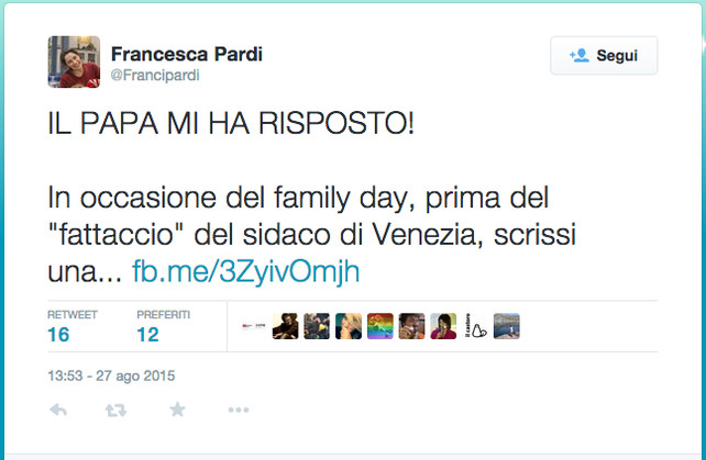 francesca-pardi-twitter-papa-francesco-libri-gender
