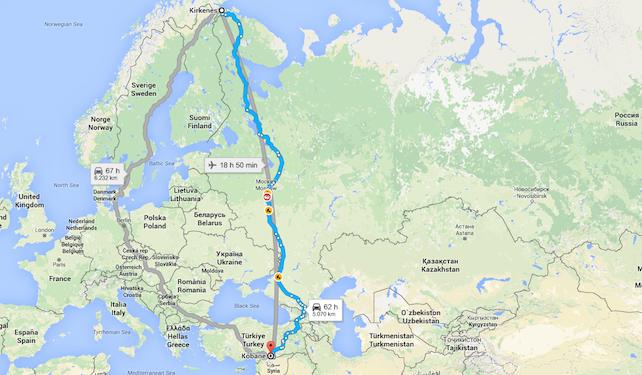 migranti-siria-russia-norvegia-europa