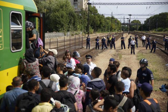 ungheria-profughi-siria-ansa