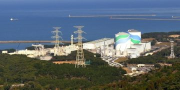 epa04878905 An undated picture provided by Kyushu Electric Power Company on 10 August 2015 shows the Sendai Nuclear Power Plant in Satsumasendai, Kagoshima Prefecture, south-western Japan. Kyushu Electric Power Company on 10 August officially announced it would restart a reactor at his Sendai Nuclear Power Station on 11 August, the first reactor to come back online in Japan since the nuclear disaster at Fukushima. It would be the first nuclear plant to restart under stricter safety regulations, which were implemented following the accident in March 2011.  EPA/KYUSHU ELECTRIC POWER COMPANY/HANDOUT  HANDOUT EDITORIAL USE ONLY/NO SALES