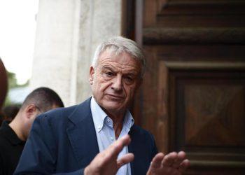 Il ministro dell'Ambiente Corrado Clini, durante la 'Reunion 2012' dell'universit‡ Luiss, il 22 settembre 2012 a Roma. ANSA/ GUIDO MONTANI