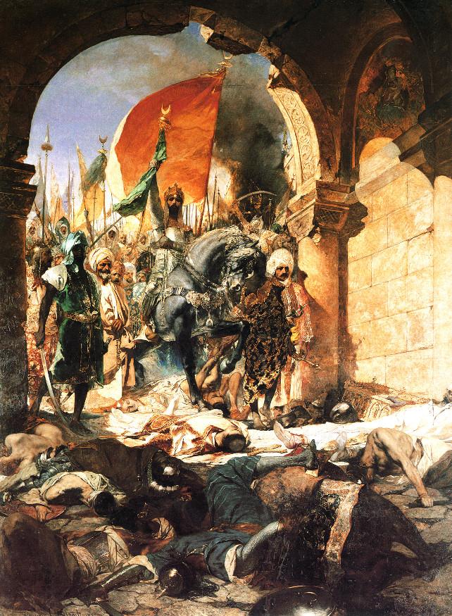 benjamin-constant-ingresso_maometto-ii-costantinopoli