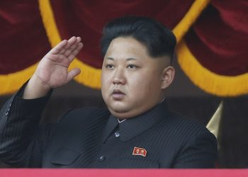 In this Oct. 10, 2015, file photo, North Korean leader Kim Jong Un salutes at a parade in Pyongyang, North Korea. Itís a single image released by an enormous propaganda apparatus, showing a note handwritten by a dictator. And it contains a telling clue to the mindset behind what has become the biggest story in Asia: North Koreaís surprise and disputed claim to have tested its first hydrogen bomb. The Dec. 15, 2015, note from leader Kim Jong Un calls for a New Year marked by the ìstunning sound of the explosion of our countryís first hydrogen bomb.î (AP Photo/Wong Maye-E, File)