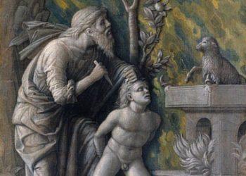 Andrea Mantegna Sacrificio di Isacco Tempera a colla su tela, cm 48,5 x 36 Vienna, Kunsthistorisches Museum