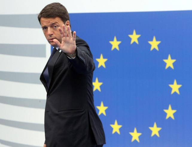 renzi-europa-ansa